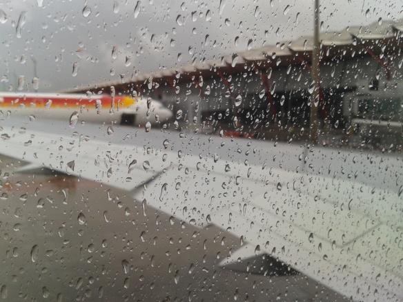 En Madrid seguía lloviendo