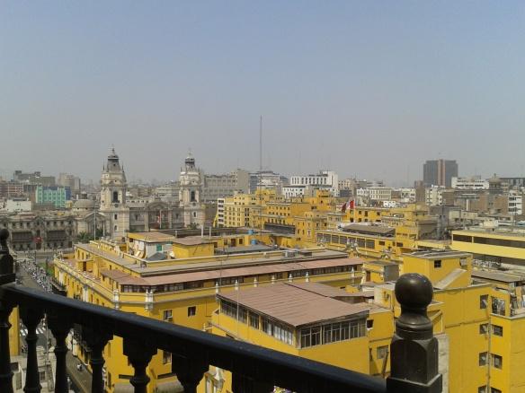 Vistas desde la torre del convento de Santo Domingo